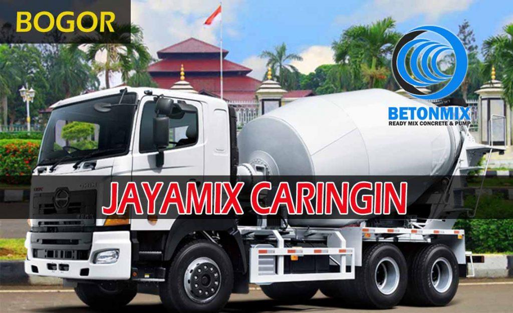 harga beton jayamix caringin bogor